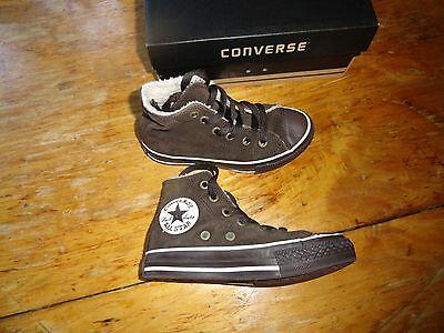 Süße Converse Sneakers Schokolade Gr. 27