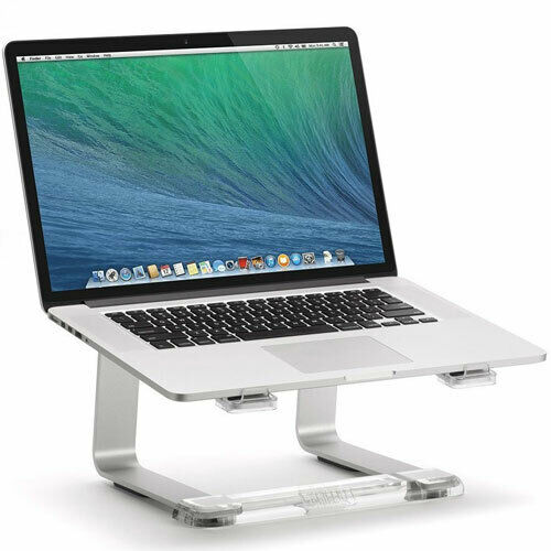 SILVER//CLEAR GC16034-2 GRIFFIN ELEVATOR DESKTOP STAND FOR LAPTOPS /& MACBOOK