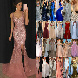 Women-Wedding-Formal-Bridesmaid-Evening-Party-Lady-Cocktail-Prom-Gown-Long-Dress