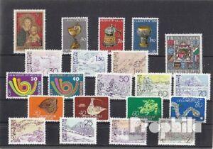 Liechtenstein 1973 neuf complet volume dans propres conservation