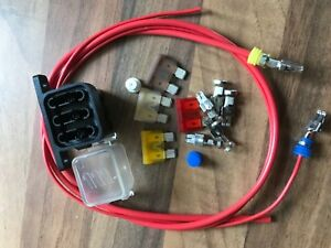 eberspacher airtronic d2 d4 d4s d5 heater fuse box holder kit with rh ebay co uk heater fuse on a 92 toyota celica electric water heater fuse box