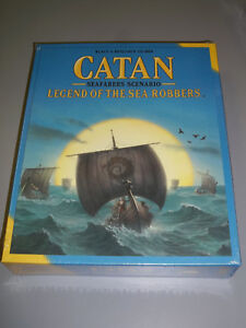 Seafarers Scenario Details about  /Brand New Catan Legend of the Sea Robbers GAME