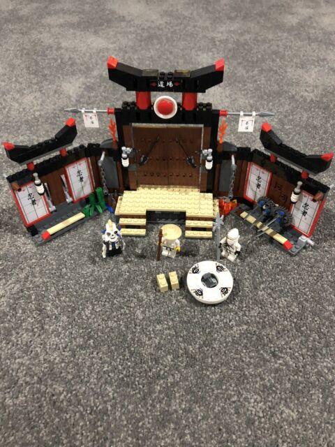 Lego Ninjago 2504 Spinjitzu Dojo Rare Retired Set 100% Complete!