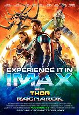 24x36 - Chris Hemsworth Tom Hiddleston Loki v7 Thor Ragnarok Movie Poster