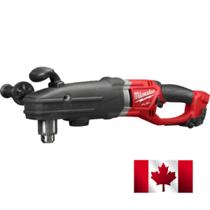 New-Milwaukee-2709-20-M18-18V-SUPER-HAWG-1-2-Right-Angle-Drill-Bare-Hole-Hwag