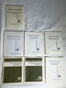 American-National-Standard-Manual-Collection-7-booklets-1975-81-Vintage