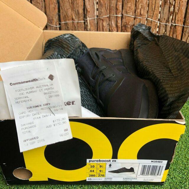 ADIDAS Response Trail Boost Men's Running Hiking Shoes Size US 9.5 BlackOrange