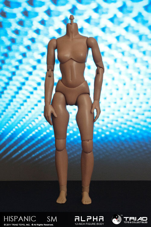 BULK 12x Triad Toys Headless Hispanic SMB Alpha Alpha Alpha Sixth 1 6th Scale Female Body 730aaf
