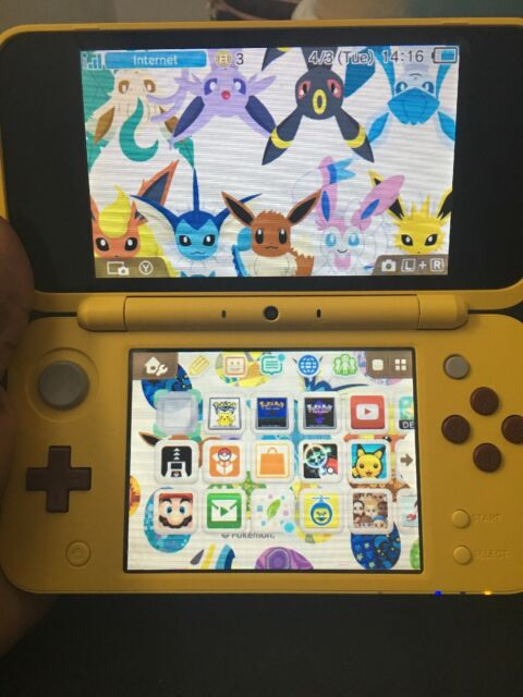 Nintendo 2ds Xl Pikachu Yellow Limited Edition For Sale Online Ebay