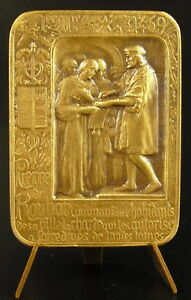 Medaglia-Camera-Della-Commerce-Pietre-Roubaix-la-Carta-Commerciale-1469-Medal