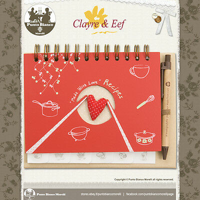 Clayre & Eef | 6pa0084 | Ricettario - Recipe Book | Shabby Chic
