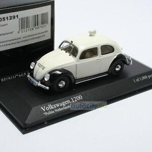 Minichamps Vw 1200 Police d'exportation Pays-Bas 431051291