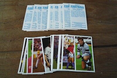 Geo Bassett//Barratt Football Cards 1983-84  MINT! Pick The Cards You Need