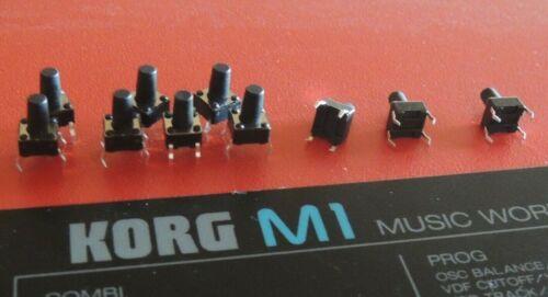 10pcs Parts KORG PUSH Switch bouton 9 mm tactile M1 01W i3 T3 WS X3 Trinity Prox