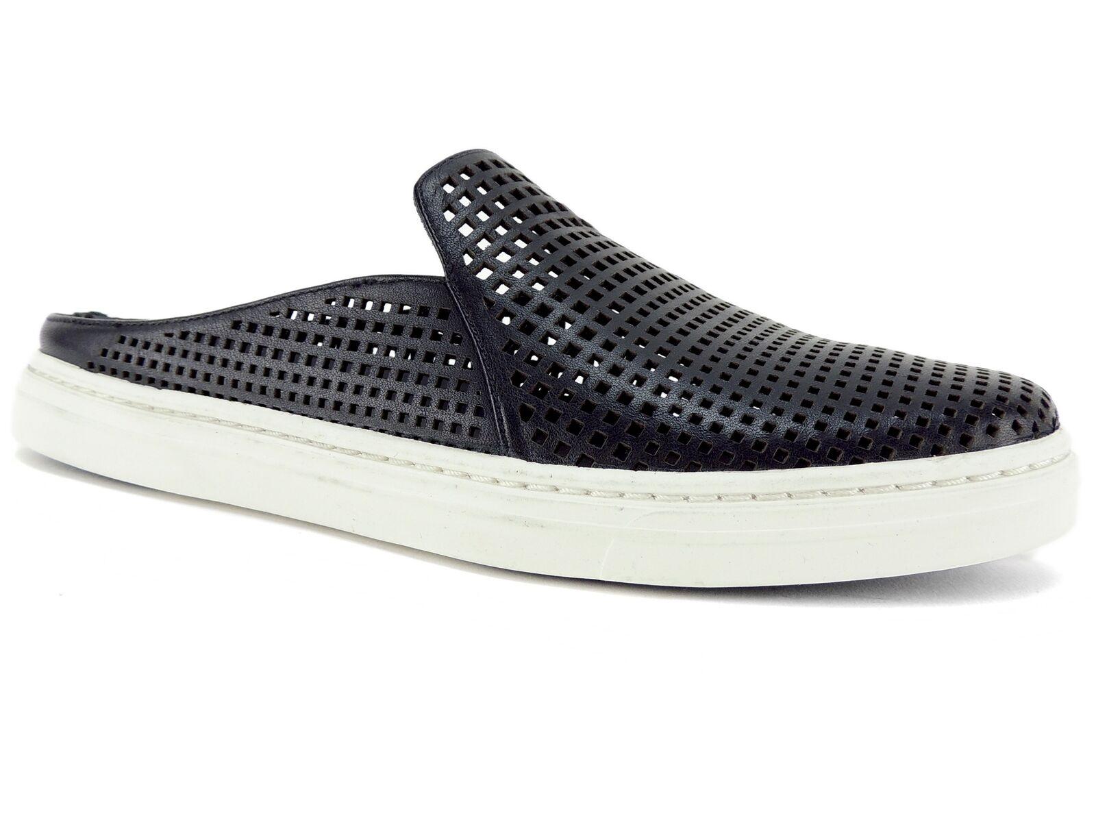 prendi l'ultimo Via Spiga Donna  Rina Backless Fashion scarpe scarpe scarpe da ginnastica nero Leather Dimensione 5.5 M  Sconto del 60%