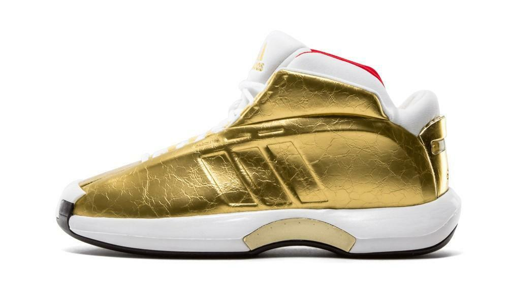 Adidas Crazy GOLD 1 Kobe Bryant Metallic GOLD Crazy USA Olympic MVP LAKERS Championship 11 ef44da