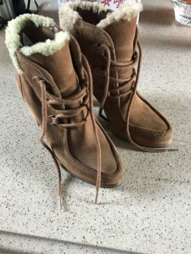 Boots Uk 3 5 Genuine Ugg Size 36 Eu Girls Ladies 5wTApg