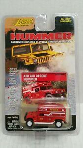 Rare-Johnny-Lightning-Hummer-ATR-Air-Rescue-Red-White-Lightning-Chase