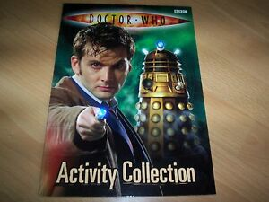 book doctor who activity collection - <span itemprop='availableAtOrFrom'>HAMPTON, Middlesex, United Kingdom</span> - book doctor who activity collection - HAMPTON, Middlesex, United Kingdom