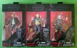 Star-Wars-The-Black-Series-Lot-of-3-Jyn-Kanan-Han-Solo-Hasbro