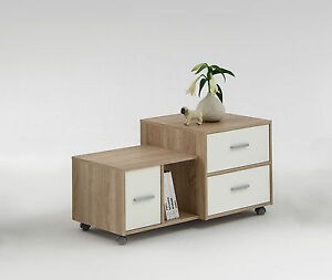 "Quirky Bedside Tables mia"" designer offset side / end / bedside table cabinet. quirky"