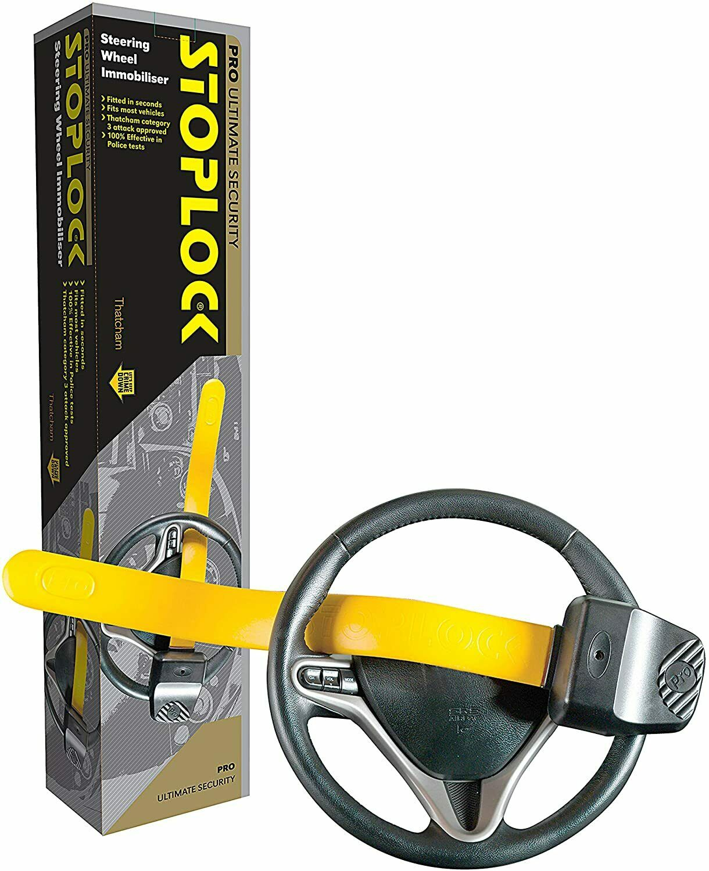 Stoplock HG19000 Anti Theft License Number Plate Locks Pair Fasteners Security