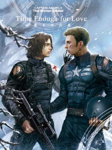 Marvel The Avengers Winter Soldier Captain America Stucky PVC File Folder N