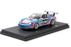 EBBRO-881-TAKE-ONE-Porsche-Carrera-Cup-Japan-2006-Silber-OVP-1-43