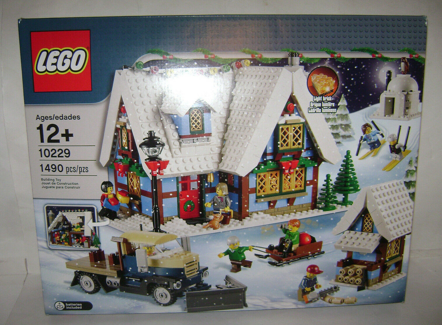 NEW 10229 Lego CREATOR Winter Village Cottage Building Toy SEALED BOX RETIrosso A