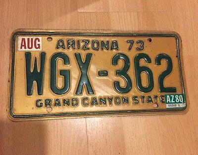 Vintage Arizona 73 Plate
