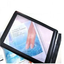 A4 Full Page Large Sheet Magnifier Magnifying Glass Reading Aid Lens Fresnel
