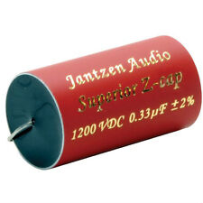 1 pair (2pcs) of  0.33UF Jantzen 1200V Z-Superior Capacitor