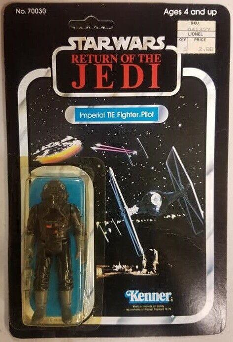 Kenner  Return Of The Jedi Unpunched Imperial Tie-combatiente Pilot  fino al 65% di sconto