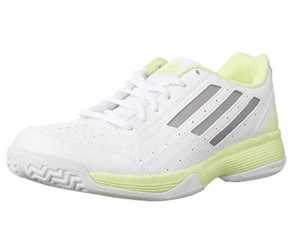 brand new d704e ef0ed adidas Sonic Attack W White Silver Yellow Womens Tennis Shoes SNEAKERS  B24529 UK 7 for sale online  eBay