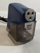 Boston School Pro Electric Pencil Sharpener Model 167x Heavy Duty 3 Sizes Tested