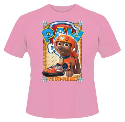 Paw Patrol Zuma Personalised Boys Girls T-Shirt Ideal Gift//Present