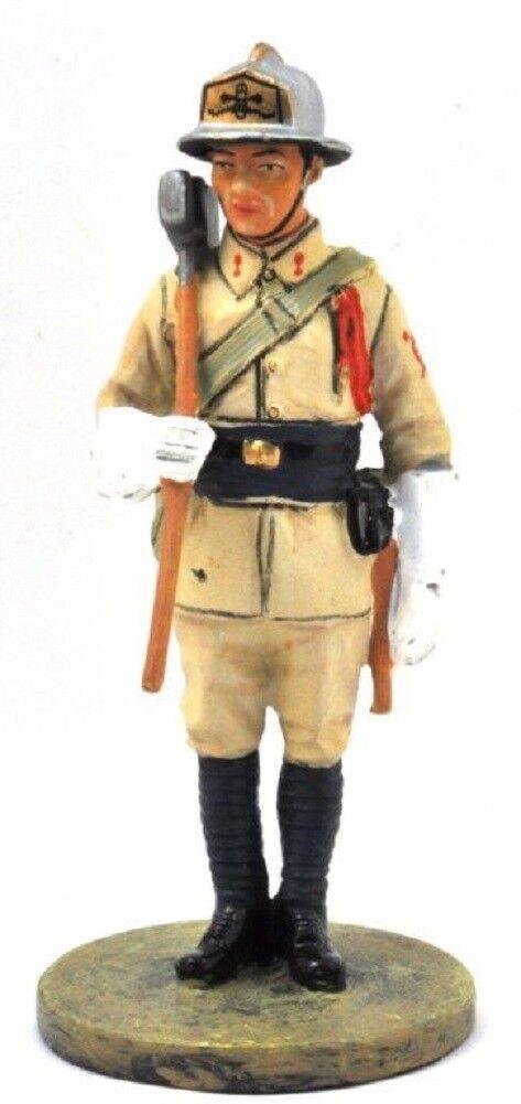 "Firefighter Figurine Fireman Indochina 1943 Metal Del Prado 1//32 2.75/"""