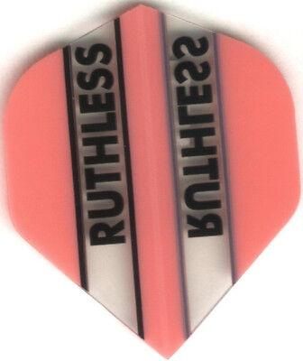 3 per set PINK//CLEAR RUTHLESS Dart Flights