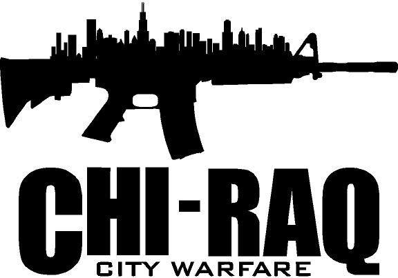 Chiraq Chicago city warfare vinyl decal