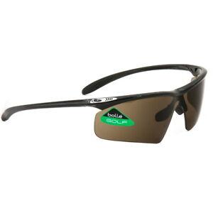 Bolle-Golf-Sunglasses-Witness-Shiny-Black-EagleVision-10929-Authorized-Dealer