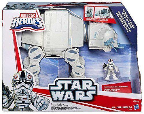 Playskool Heroes Galactic Heroes Star Wars AT-AT Walker with AT-AT Driver