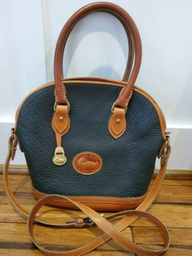 Dooney and Bourke Black Handbag Vintage 1990's