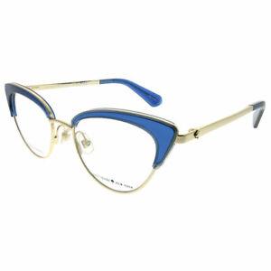 81afa37189dd7 Kate Spade Jailyn PJP Blue Plastic Cat-Eye Eyeglasses 50mm ...