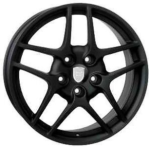 19-inch-SET-OF-HELIOS-BLACK-Wheels-PORSCHE-911-993-996-997-OEM-COMPATIBLE-ITALY