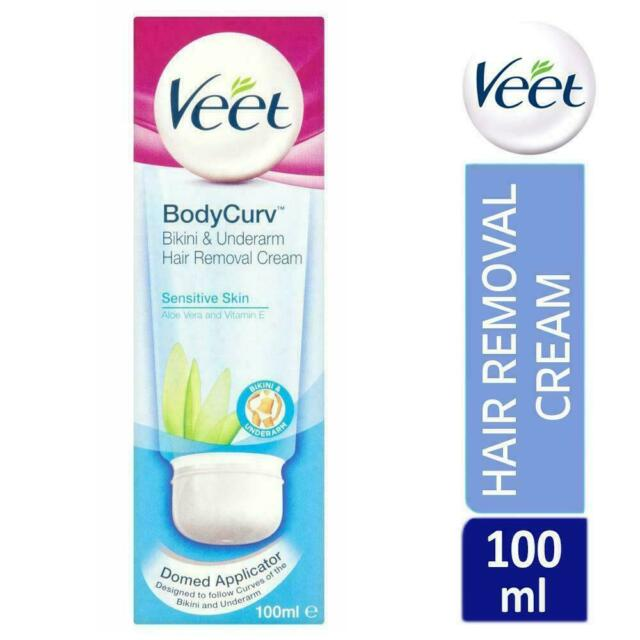 Veet Hair Removal Cream For Sensitive Skin 100ml For Sale Online
