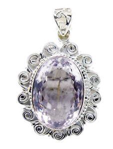 appealing-Amethyst-925-Sterling-Silver-Purple-Pendant-genuine-supply-US-gift
