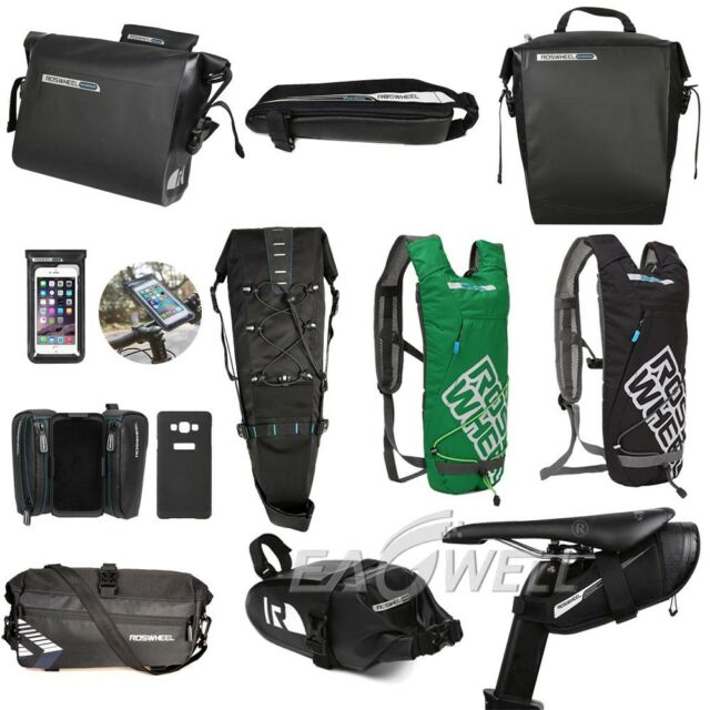INBIKE Waterproof Bicycle Rear Seat Saddle Bag with Water Bottle Pouch Bike