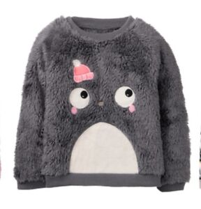 Gymboree Holiday Winter Penguin Baby Girls Size 3T Lavender Top Shirt NWT