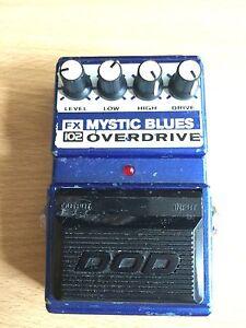 dod digitech fx102 mystic blues driver overdrive rare guitar effect pedal ebay. Black Bedroom Furniture Sets. Home Design Ideas