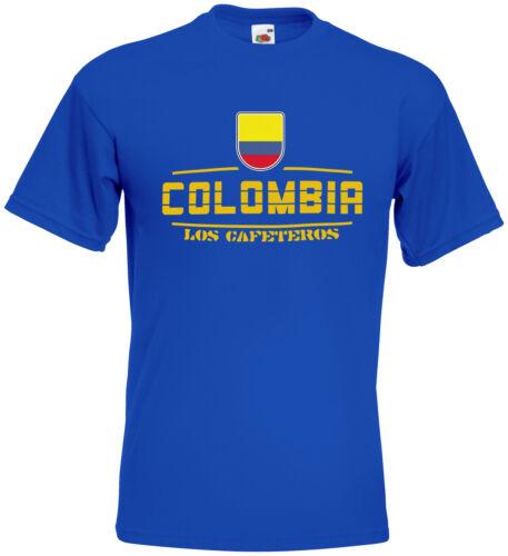 La Colombie Fanshirt maillot wm2018 S M L XL XXL